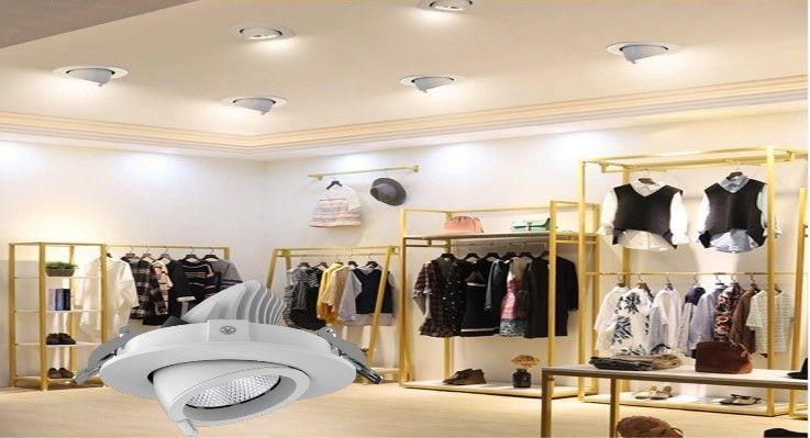 Đè LED chỉnh hướng 12 w 400K dùng cho shop thời trang